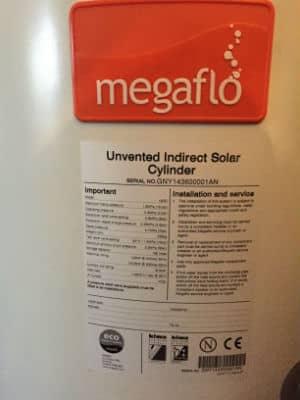 megaflo data label