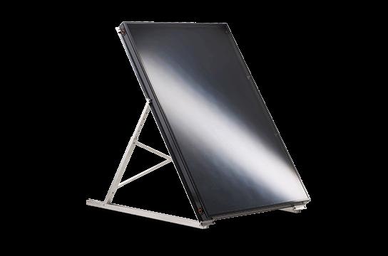 a frame solar panel