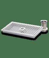 Drip tray drain
