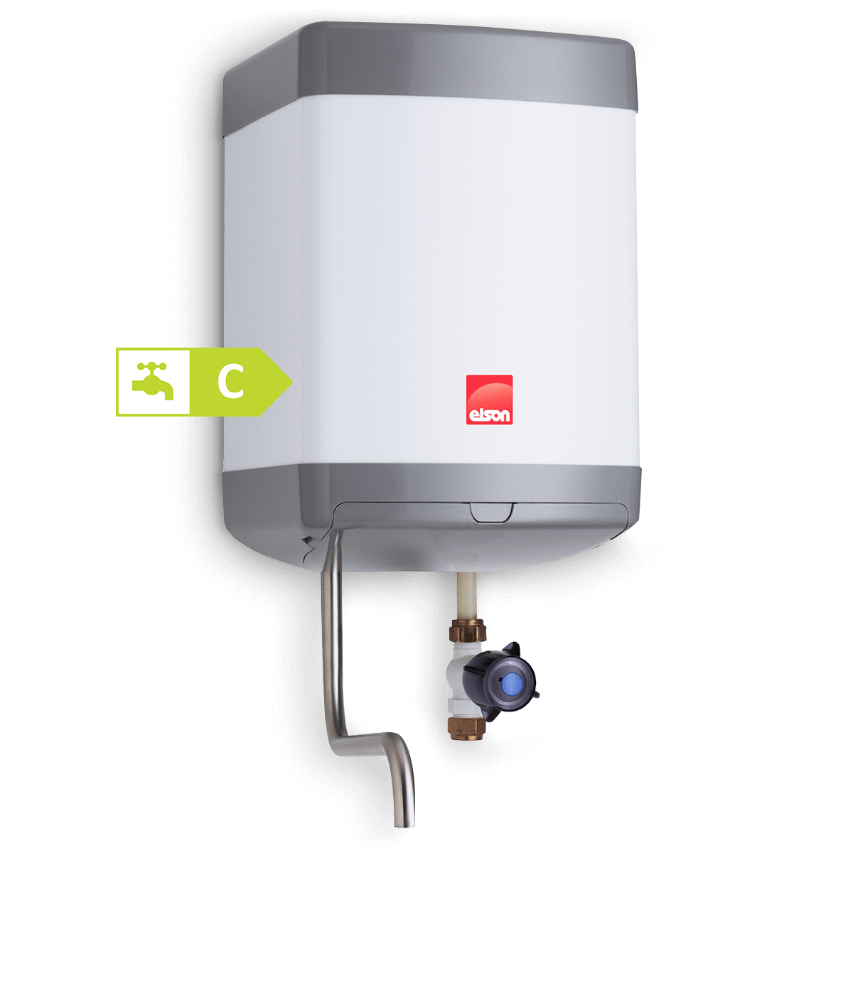 EOS7 vented water heater banner image.