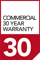30 year commercial warranty